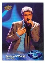 Taylor Hicks trading card (Singer) 2009 Upper Deck American Idol #011 - $4.00