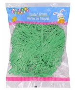 Green Easter Grass | 3oz Bag | for Easter Baskets, Table Decorations, Ho... - $6.92
