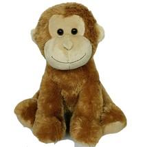 "Aurora Monkey Chimpanzee Ape Brown Zoo Jungle Plush 13.5"" - $33.06"