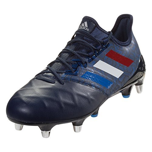 adidas Kakari Light SG Rugby Boots, Navy (US 12.5)
