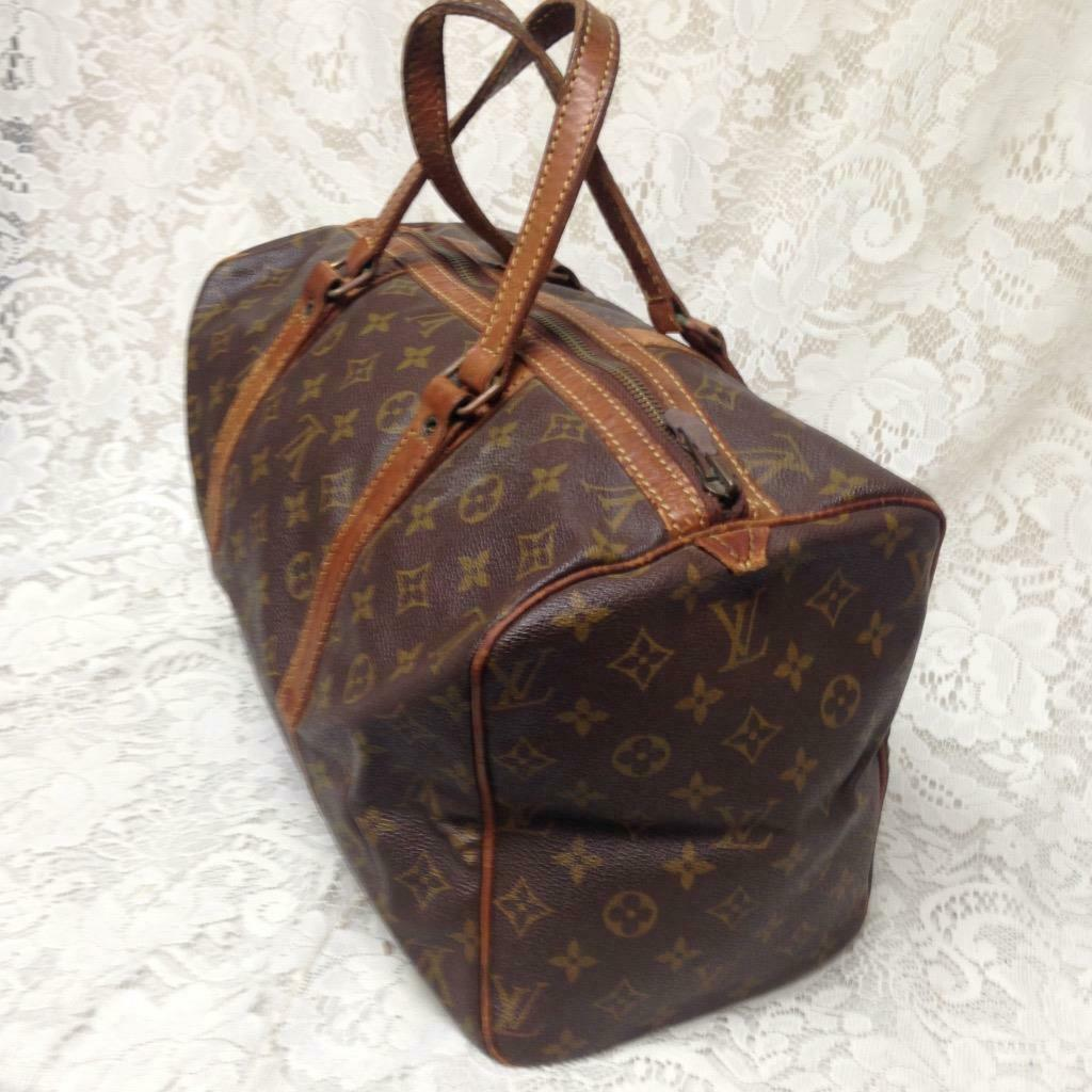 Primary image for Louis Vuitton Brown Mono Speedy 35 Travel- Business Bag 9in x 15in x 7in