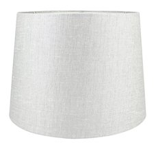 Urbanest French Drum Metallic Fabric Lamp Shade, Metallic Taupe, 10-inch by 12-i - $34.64
