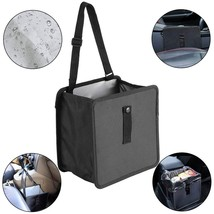 Car Trash Bag Hanging Garbage Cans Car Garbage Can Waterproof Leakproof ... - $15.54