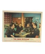 Vintage 1956 The Iron Petticoat Movie Lobby Card #2 Katharine Hepburn Bo... - $23.23