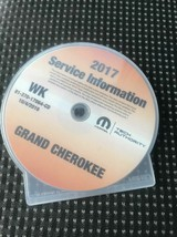 2017 Jeep Grand Cherokee Werkstatt Service Information Shop Reparatur Ma... - $197.98