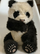 "FurReal Friends Luv Cubs Panda Tiger Electronics 2004 Hasbro 12"" WORKS Fur Real - $29.09"