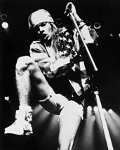 Guns 'N Roses Axl Rose On Stage Performing With American Flag Over Shoulder 16X2 - $69.99