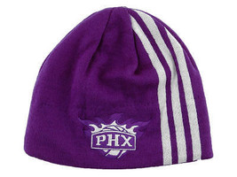 Adidas Three Stripe Authentic Nba Basketball Knit Hat - Phoenix Suns - $16.14