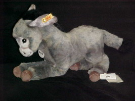 """16"""" Steiff Molly Esel Donkey Plush Toy With Tags Number 101984 - $93.49"""