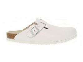 Sandal BIRKENSTOCK 060133 M in white leather - Men's Shoes - $108.30