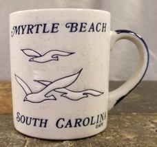 Myrtle Beach South Carolina SC Souvenir Sea Gull Speckled Coffee Mug / T... - $11.83