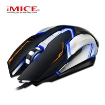 2.4G Gaming Mouse Blue Black Color 1600DPI Computer Mouse PC Laptop Mice... - $20.30