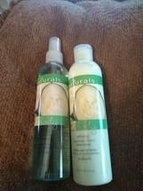 Avon Naturals Cucumber & Melon Body Lotion and Spray Set 8.4 oz each - $13.06