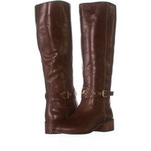 Michael Kors SH1BG Block Heel Knee High Boots, Luggage 329, Luggage, 6 US - $61.43