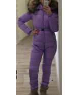 Customized Purple Overall Without Fur - $239.00