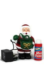 Kurt S Adler Ho Ho Ho The Christmas Blowing Bubble Santa Ornament 61/4 - $39.59