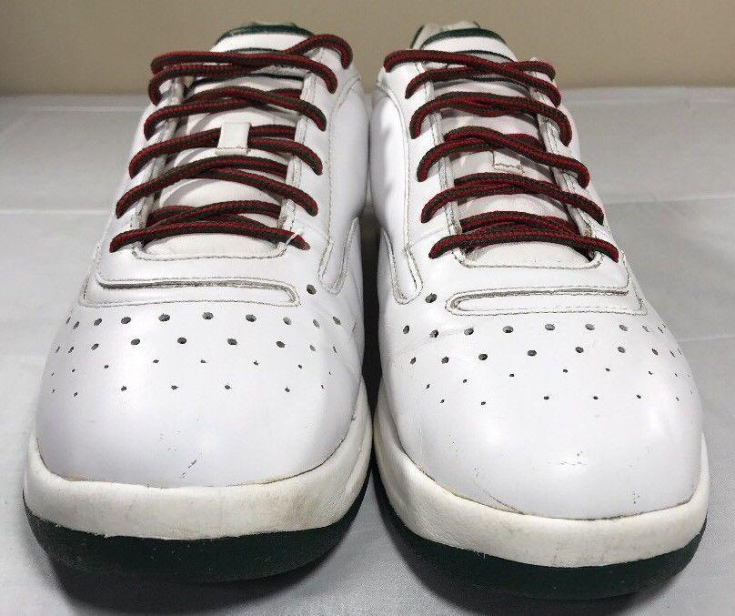 0a4f45cd9e24f Reebok S.Carter Sneakers Men's 12 Red Green Jay Z Rocafella G-Unit Hip
