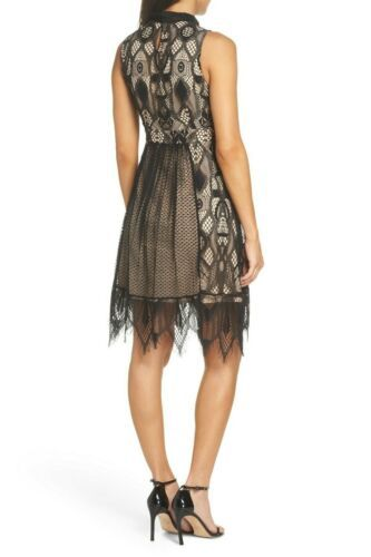 NWT Foxiedox Gloria Fit & Flare Dress  SPECIAL OCCASION  $168  BLACK  Size 2
