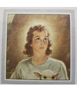 "1945 Twenty Third Psalm Book Mark ""Sunshine Line""  No. 10 Sallman's Boy ... - $15.75"