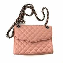 "Rebecca Minkoff Women's Pink Mini ""Quilted Affair"" Chain Crossbody Bag Purse - $79.19"