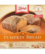 Libby's All Natural Pumpkin Bread Kit with Icing - Makes 2 Loaves - $20.99