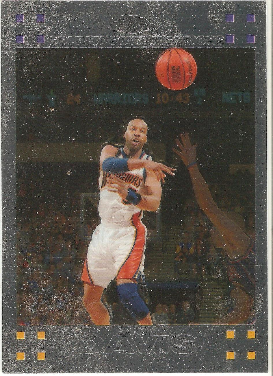 Baron Davis Topps Chrome 07-08 #71 Golden State Warriors New York Los Angeles