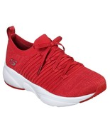 Skechers Red shoes Memory Foam Women Slip On Comfort Casual Athletic train 13024