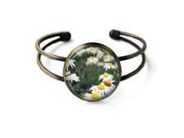 Field of Daisies Cuff Bracelet - $19.95