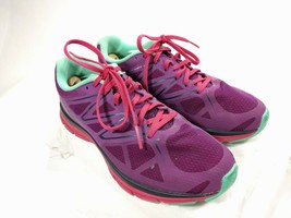 Salomon Sonic Vibe 3D Flex Womens Running Shoe Purple and Red Size 9.5 EUC! - $46.71