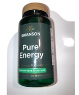 Swanson Pure Energy Veggie Capsules Best by date 04/2021 - $17.82