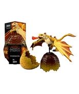 Mega Construx Black Series: Viserion Egg Game of Thrones #GMP01 30Pcs NIP - $19.88