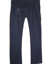 Armani Jeans Navy Comfort Cotton Jeans Men's Casual Pants Slim  Sz US 42 EU 58 - $138.55