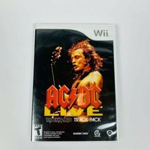 AC/DC Live Rock Band Track Pack Nintendo Wii 2008 Complete Video Game Te... - $7.66