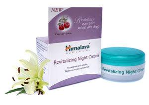 Himalaya Revitalizing Night Cream 50g  Lemon, Crab Apple, Wheat and White Lily