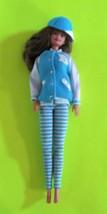 1996 Barbie Fashion Avenue MATCHIN' STYLES Blue Baseball Outfit  - $8.25