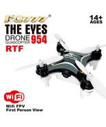 BLACK EYE FQ777 954 FIRST WiFi NANO Drone FPV Camera RTF Quadcopter phot... - $19.99