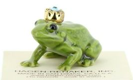 Birthstone Frog Prince March Simulated Aquamarine Miniatures by Hagen-Renaker image 7