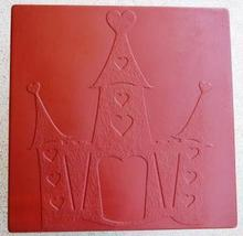 Whimsical Castle Stepping Stone Mold #2 Concrete Makes 18x18 Stones For $2 Each image 3