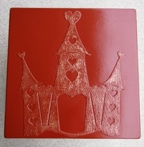 Whimsical Castle Stepping Stone Mold #2 Concrete Makes 18x18 Stones For $2 Each image 4