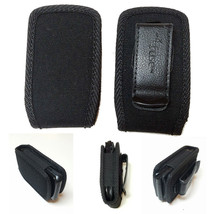 Open Top Black Nylon Case fits Samsung Convoy 3 - $12.99