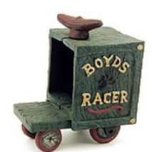 """Boyds Bear Accessory/Cast Iron""""Huck's Soap Box Racer"""" Style# 650758* NEW*Retired - $9.99"""