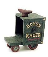 "Boyds Bear Accessory/Cast Iron""Huck's Soap Box Racer"" Style# 650758* NEW... - $9.99"