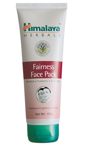 himalaya Fairness Face Pack 100g evens out skin tone for a fairer you!retail 15$