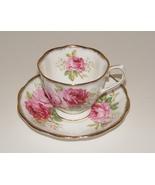 Royal Albert AMERICAN BEAUTY - TEA CUP AND SAUCER  - $7.99