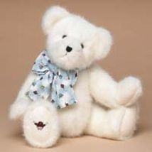 "Boyds Bears ""Mr. Tweeter"" * 16"" Plush White Bear * #510407  *2004 * NEW* Retired - $29.99"