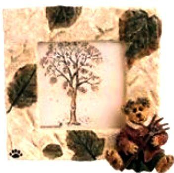 "Boyds Bearstone Frame ""Autumn McBruin.. Season's Change"" #27304*1E*NIB*Retired"