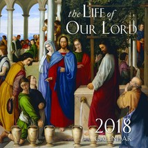 2018 The Life of Our Lord Wall Calendar