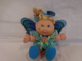"Cabbage Patch Kids Garden Butterfly Fairies/Fairy 8"" Doll Teal CPK 1995 Mattel - $21.03"