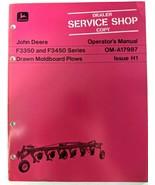 VTG John Deere F3350 F3450 Drawn Moldboard Plows Operators Manual Dealer... - $17.90