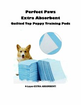 Perfect Paws Extra Absorbent CHEAP QUILTED TOPS Puppy Training Pee Pads ... - $34.95+